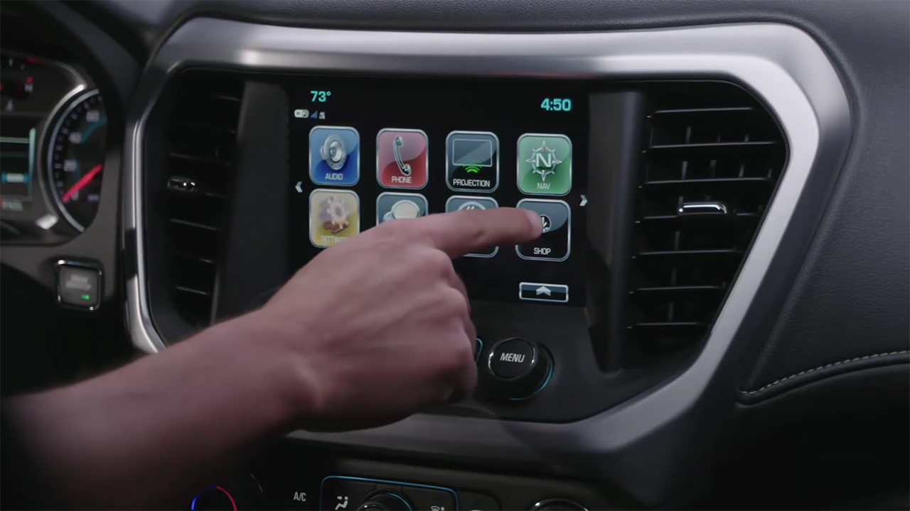Gmc Shop The App Store In Your Vehicle Goldstein Buick Gmc Blog