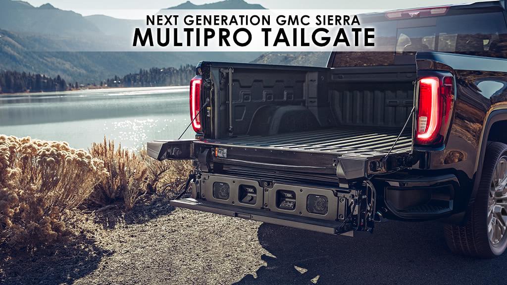 Gmc Sierra Multipro Tailgate New Innovation For New Truck Goldstein Buick Gmc Blog