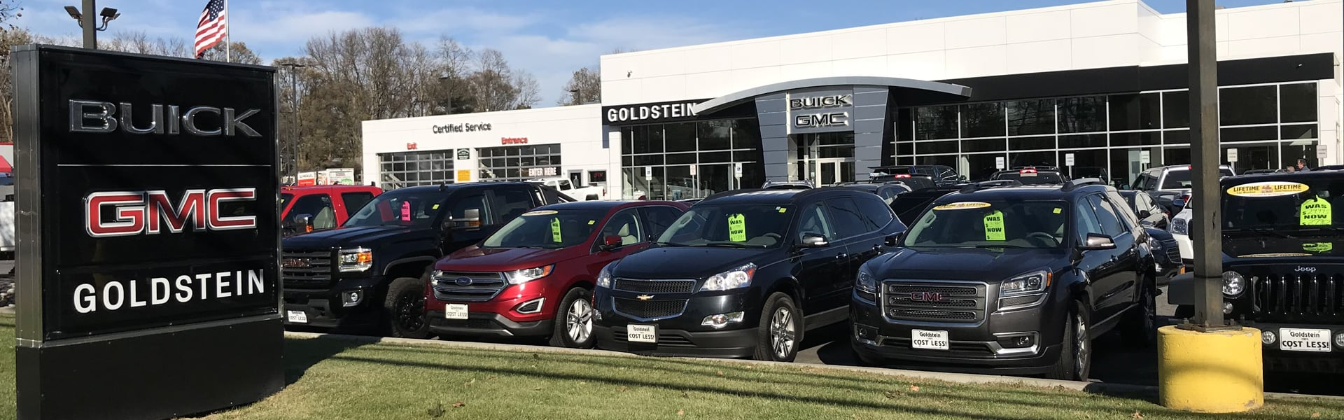 Gmc Dealer Near Me >> Car Dealership Albany Ny Goldstein Buick Gmc